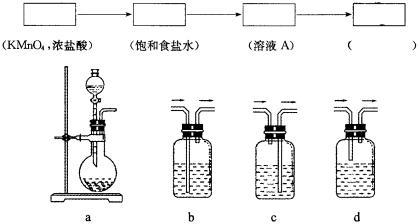 高中化学实践课堂——高一上实验综合